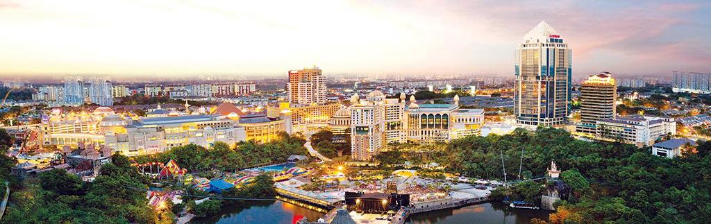 Amazing Sunway City landscape